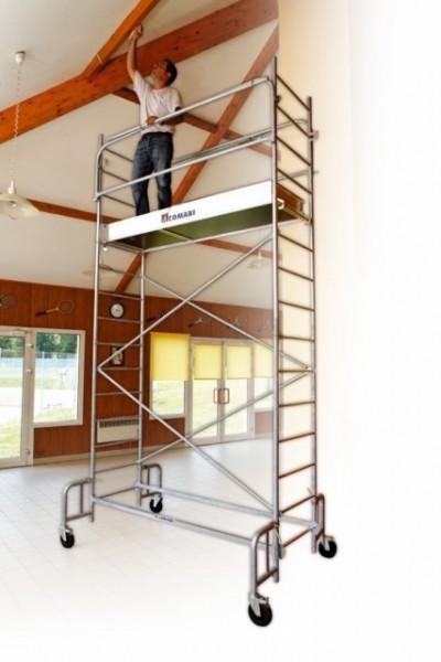 Echafaudage roulant junior 200 tubesca comabi acier spe for Location echafaudage escalier interieur