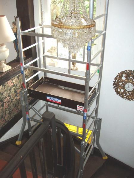 echafaudage ultralu m max sp cial escalier spe. Black Bedroom Furniture Sets. Home Design Ideas