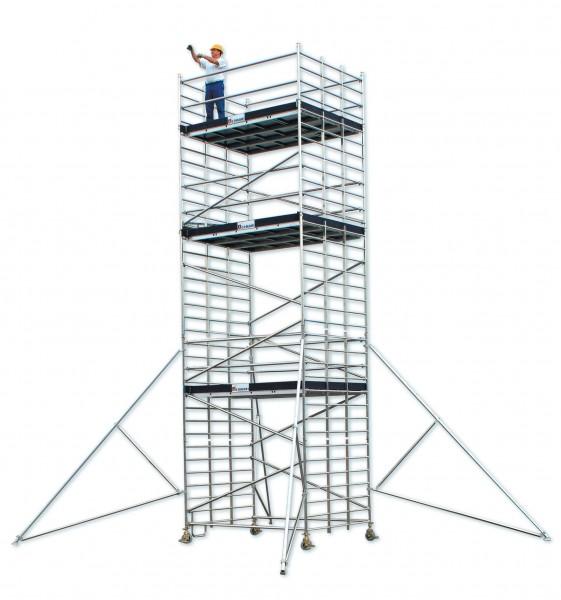 echafaudage tubesca starlium 800 aluminium spe. Black Bedroom Furniture Sets. Home Design Ideas