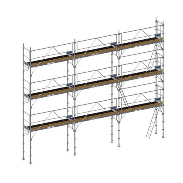 duarib echafaudage f3000 facade 130m l 12m x hauteur. Black Bedroom Furniture Sets. Home Design Ideas
