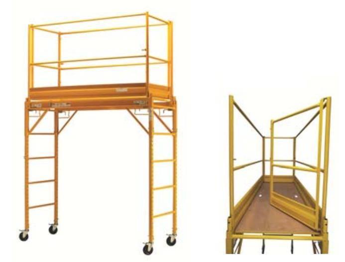 echafaudage roulant multi usage acier peint dacame tower. Black Bedroom Furniture Sets. Home Design Ideas