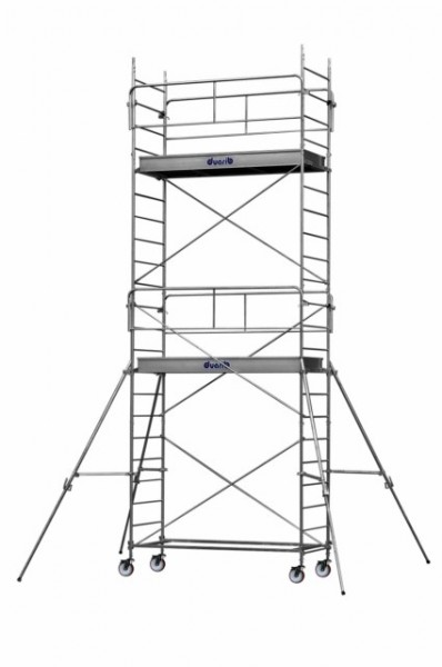 ECHAFAUDAGE ROULANT ALTITUDE AC250 DUARIB ACIER LONG 2m50