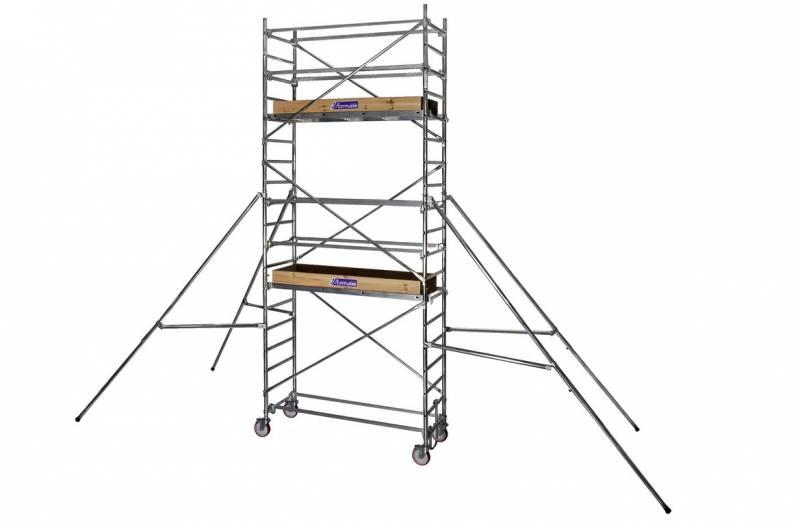 echafaudage roulant altitude al200 duarib aluminium spe. Black Bedroom Furniture Sets. Home Design Ideas