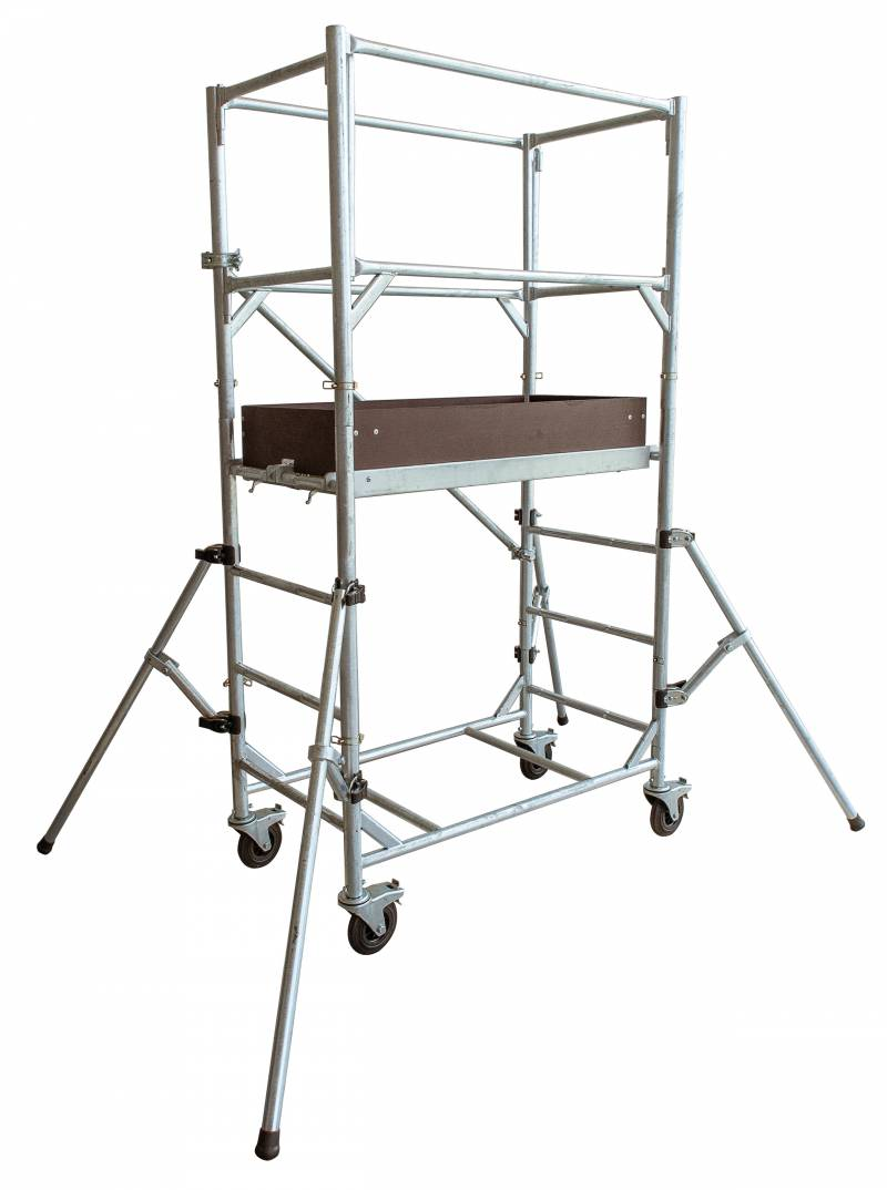 echafaudage roulant goliath 120 tubesca comabi acier spe. Black Bedroom Furniture Sets. Home Design Ideas
