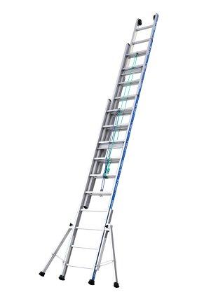 echelle platinium 300 coulisse a corde 2 plans tubesca. Black Bedroom Furniture Sets. Home Design Ideas