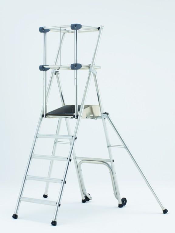 plate forme individuelle de travail profort fixe avec garde corps fixe tubesca comabi soci t. Black Bedroom Furniture Sets. Home Design Ideas