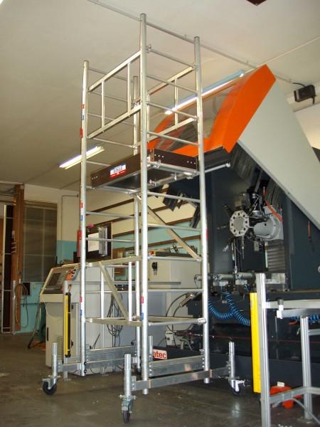 Echafaudage ultralu m max sp cial escalier chafaudages en - Location echafaudage escalier ...