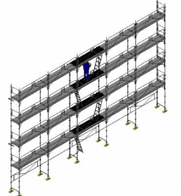 l vateur de chantier pour travaux sur toiture duarib centaure soci t proven ale echafaudages. Black Bedroom Furniture Sets. Home Design Ideas