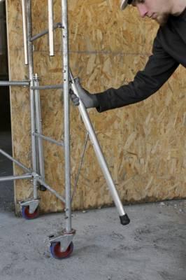 ECHAFAUDAGE ROULANT DUARIB ROLLY STABILISATEURS SPE