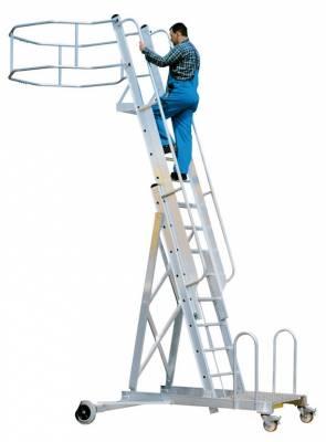 Echelle d 39 acces pour poids lourds tubesca reglable en for Echelle pour lit en hauteur