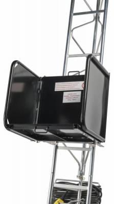 MONTE-MATERIAUX CASTOR STEEL 150/20 HAEMMERLIN ECHELLES ACIER 10M COUVREUR